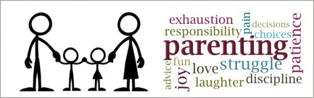 parenting words banner