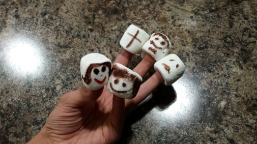 marshmallow people