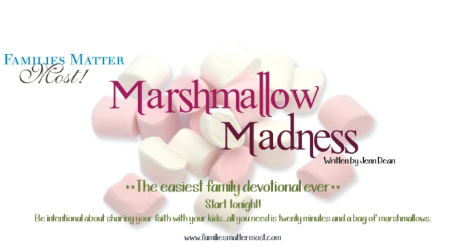 Marshmallow Madness: Plan Ahead