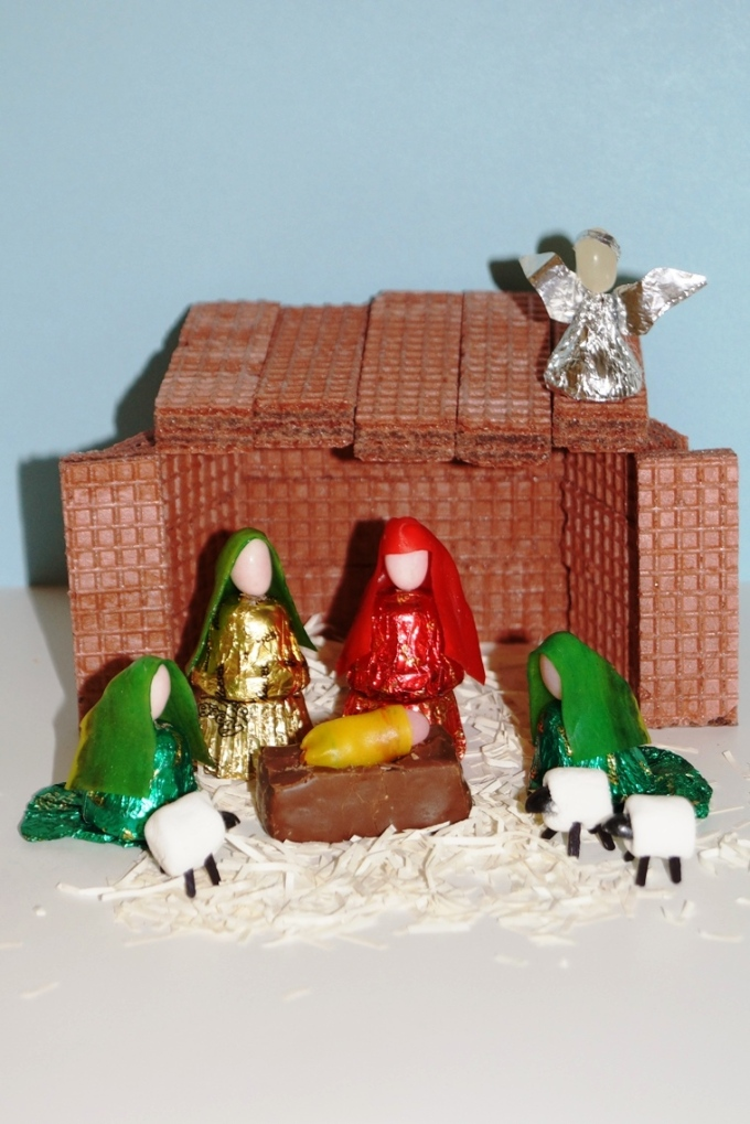 Marshmallow Madness: Christmas Nativity Snack